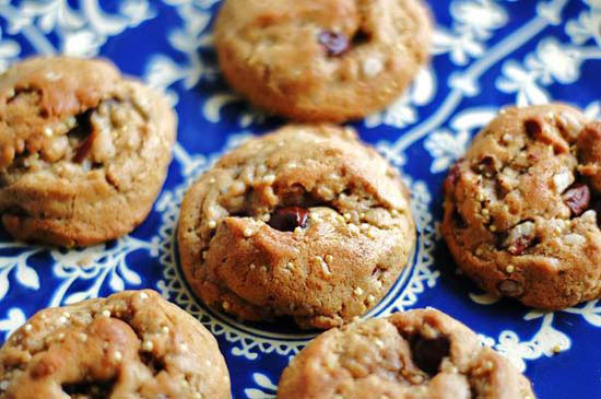 multigrain chocolate chip cookie